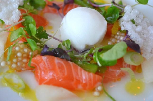 Salmon Sashimi at Perry St.