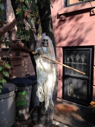 Halloween Bride in Brooklyn