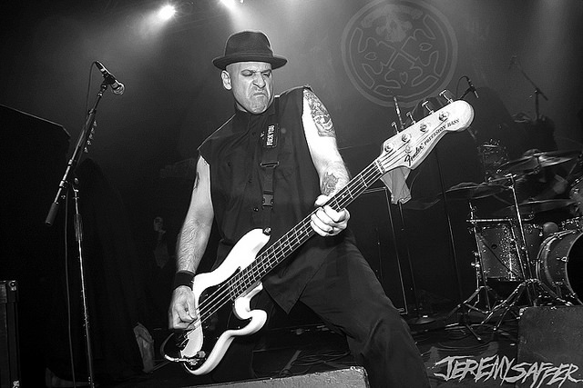 Alan Roberts Playing Bass in Life of Agony