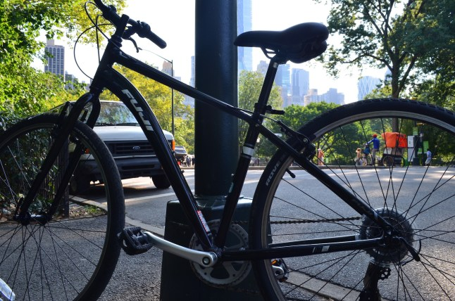 Bike Ride in Central Park on a Fuji Bike