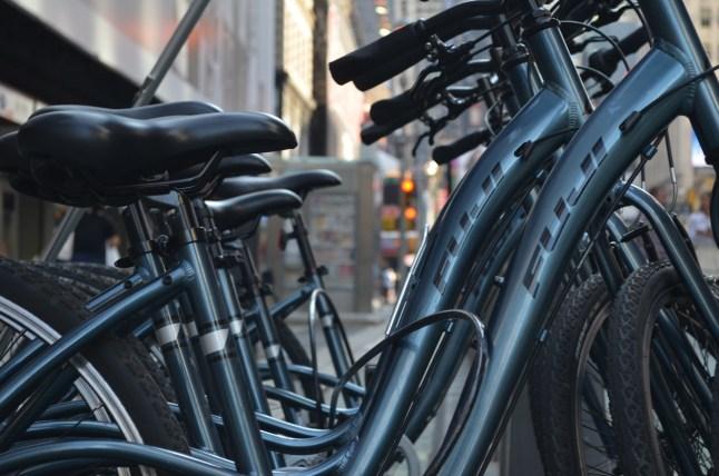 Central Park Tours Fuji Bikes