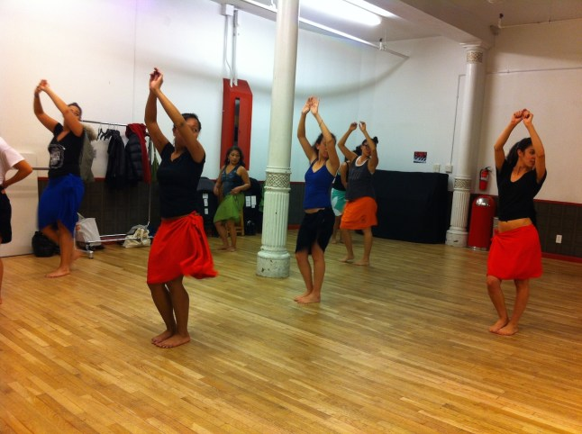 Tahitian Dance Class in New York City