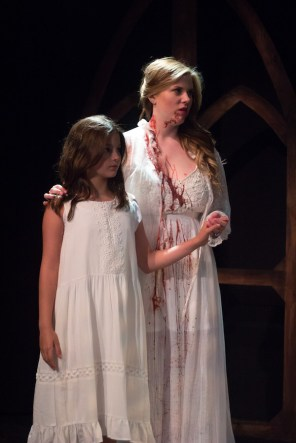 Vampire Lucy with Little Girl