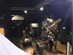 NASA Historical Artifacts at Art Science Museum