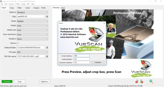 VueScan 9.6.24 Crack With License Key Free Download