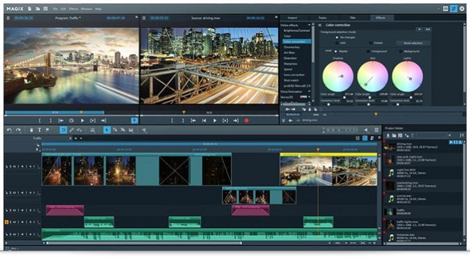 MAGIX Video Pro X10 v16.0.2.317 Crack With Activation Key Free Download