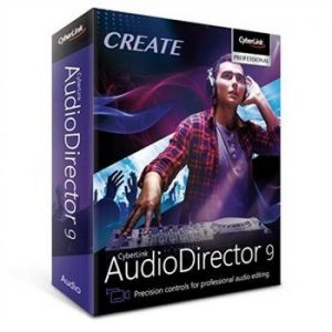 CyberLink AudioDirector 9.0.2514.0 Crack With License Key