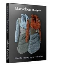Marvelous Designer 8 v4.2.295.38995 Full Crack Registration Key
