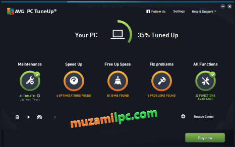 AVG PC Tuneup 18.3.507.0 Crack + Activation Key Latest Version