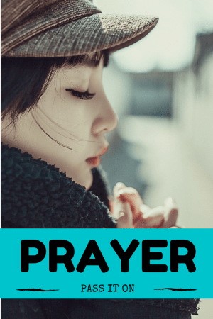 Prayer – Even Jesus Did It!