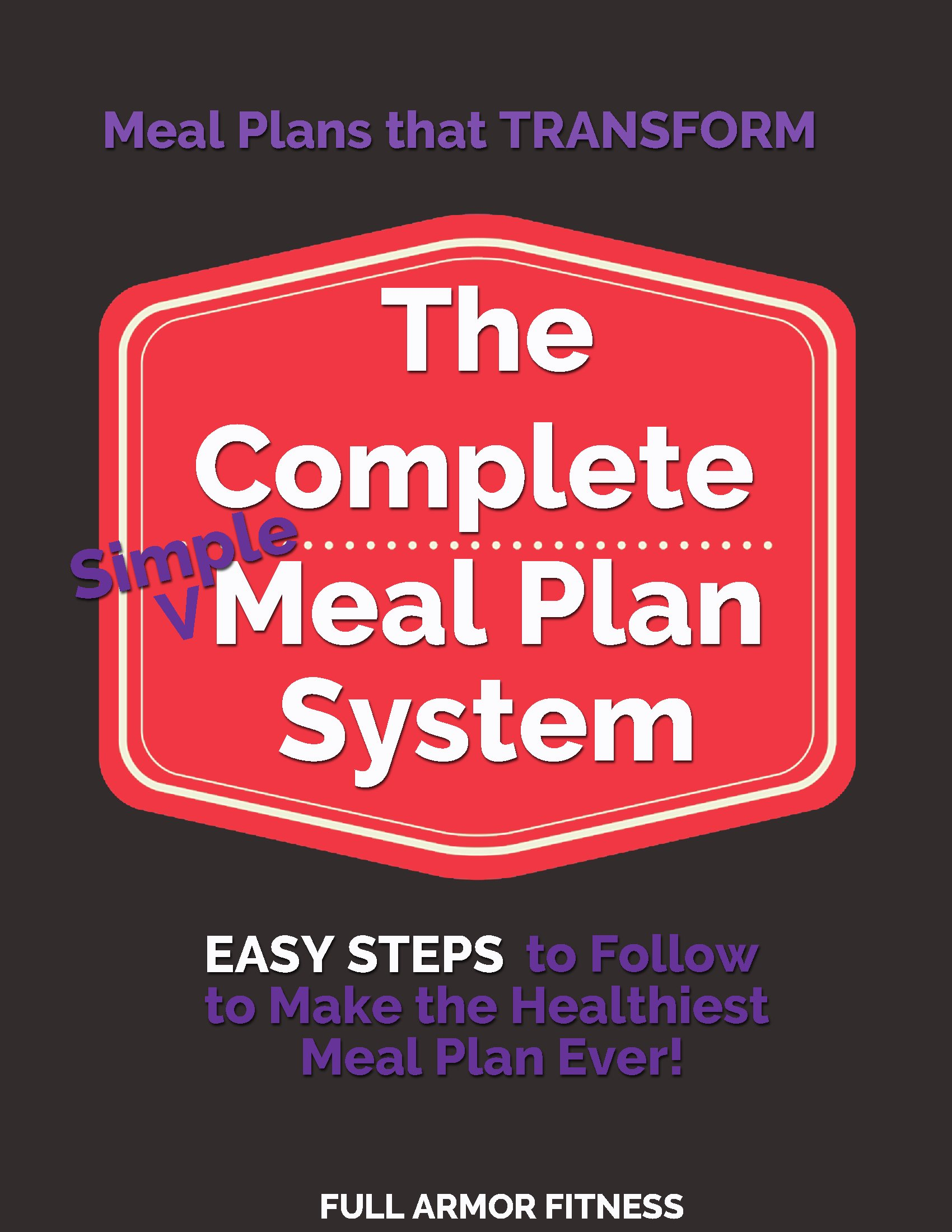 Complete Meal Plan System