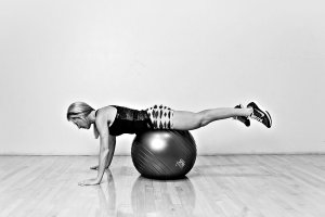 Bottoms Up On Stability Ball 1