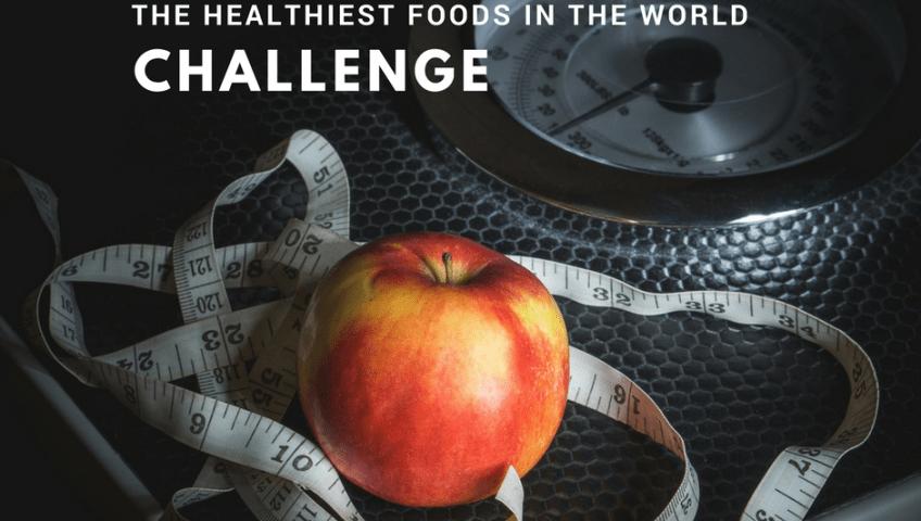 Healthiest foods challenge image