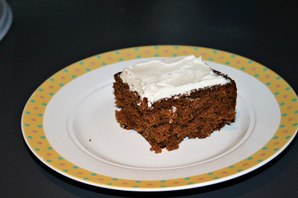 Low Fat Moist Carrot Cake - Delia Smith