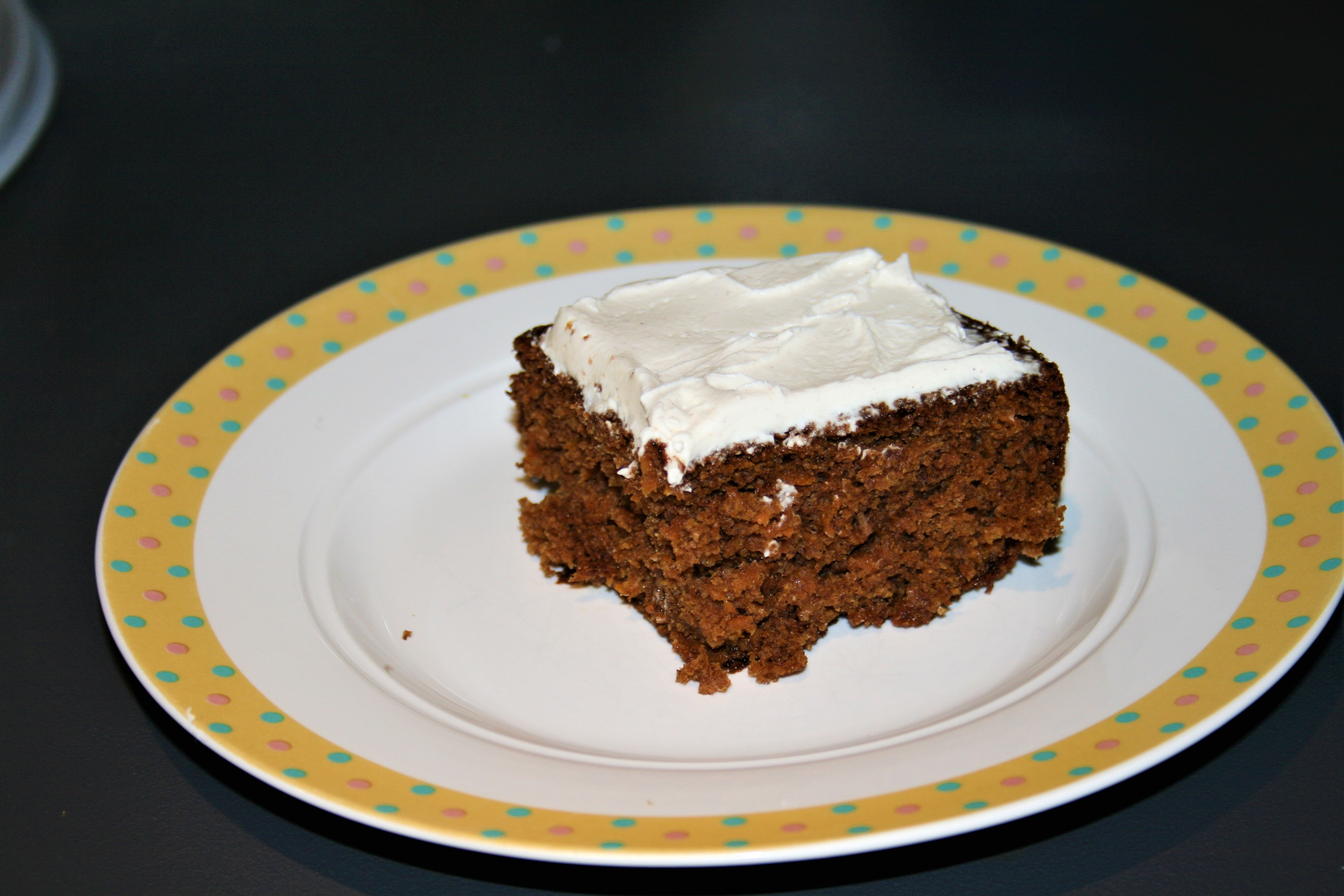 Delia Smith Low Fat Moist Carrot Cake