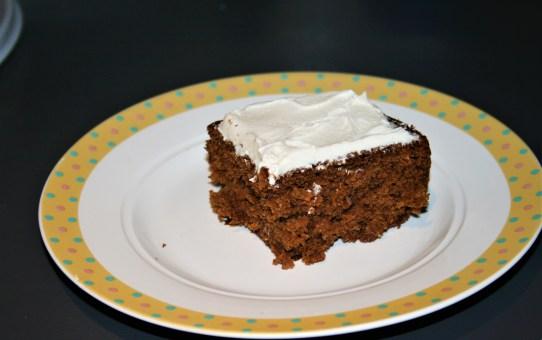 Low Fat Moist Carrot Cake – Delia Smith