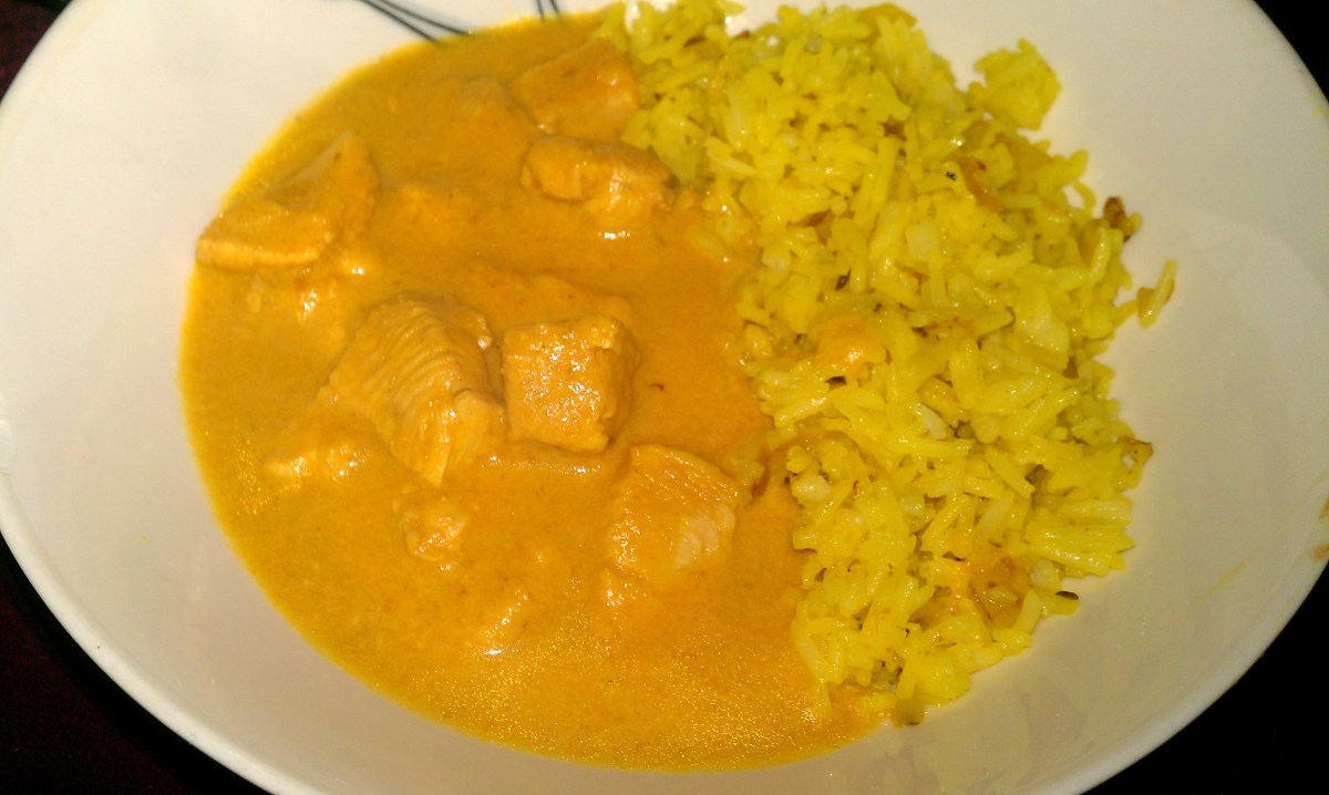 Kenny McGovern's Chicken Korma