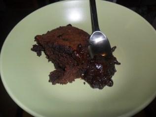 Chocolate fudge hot pot pudding