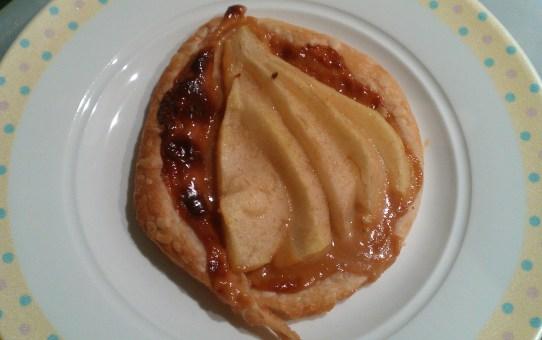 Pear and Caramel Tarts