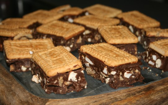 Malted Milk Tiffin