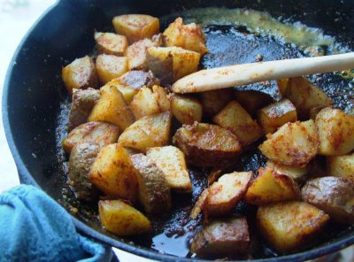 Image result for fried potatoes images