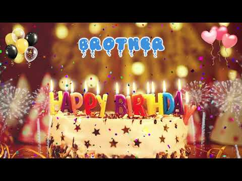 Happy Birthday Song For Brother Mp3 images