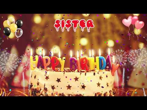 Happy Birthday Song For Sister Mp3 images