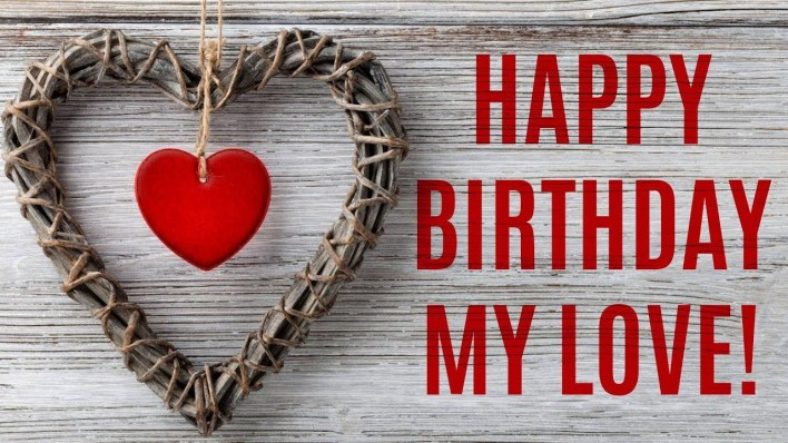happy birthday song for love images