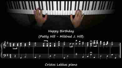 patty hill happy birthday to you