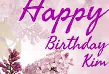 happy birthday kim images