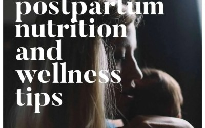 Nutrition + Wellness For a Postpartum Mama
