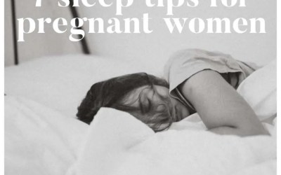 7 Sleep Tips For Pregnant Women