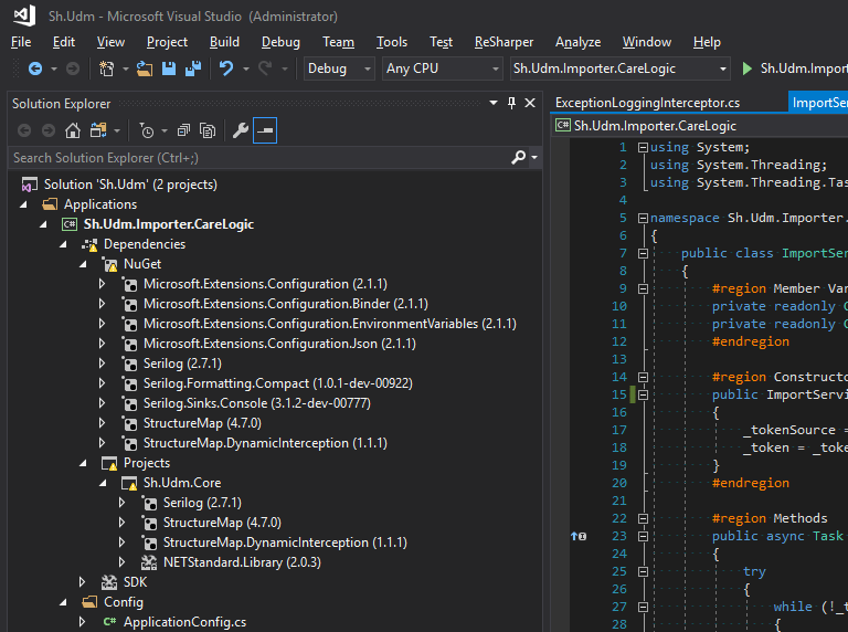Visual Studio, dependencies, and the Mysterious Yellow