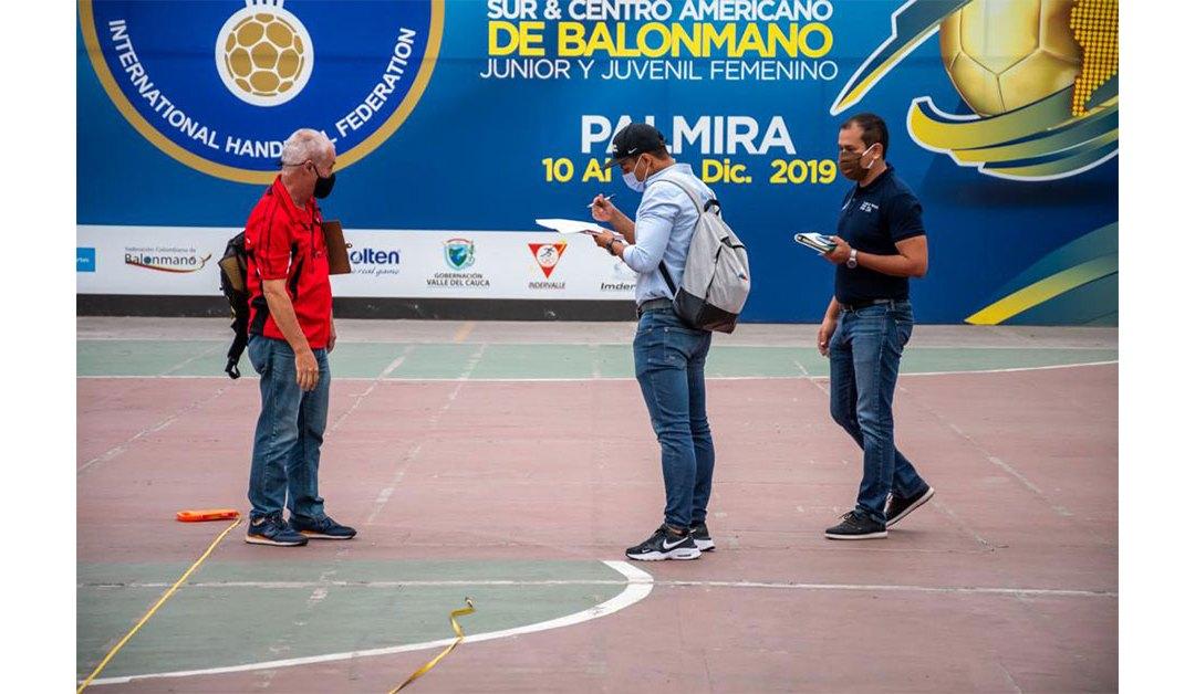 Con visita a Palmira, continúan las inspecciones técnicas a los escenarios de los I Juegos Panamericanos Junior