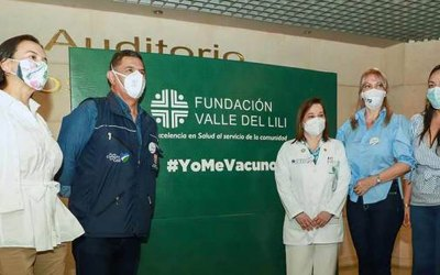 EL Alcalde Ospina destaca el compromiso del plan de vacunación en Cali