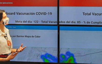 La Secretaría de Salud de Cali anuncio que finalizo el primer lote de vacunas contra la covid-19