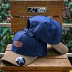 DENIM_BLUEJEAN_CAP BROWN