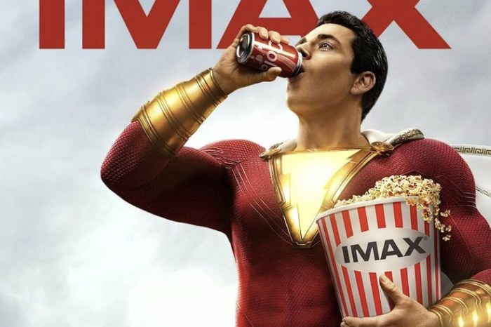 'Shazam!' Looking At A $40 Million Opening Weekend