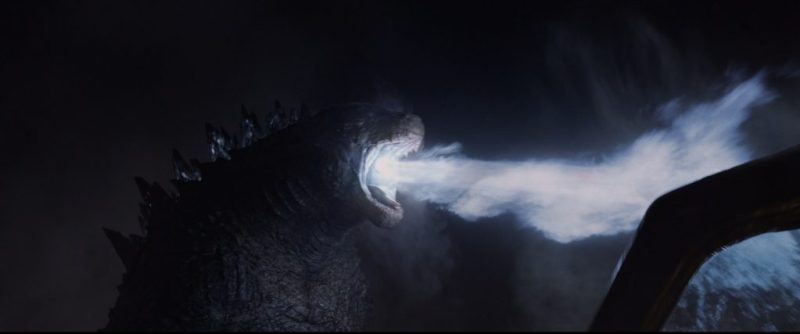 Godzilla - Atomic Breath In Action