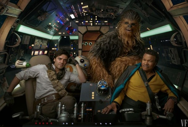 The Rise of Skywalker - Lando, Chewie, BB-8 and Poe