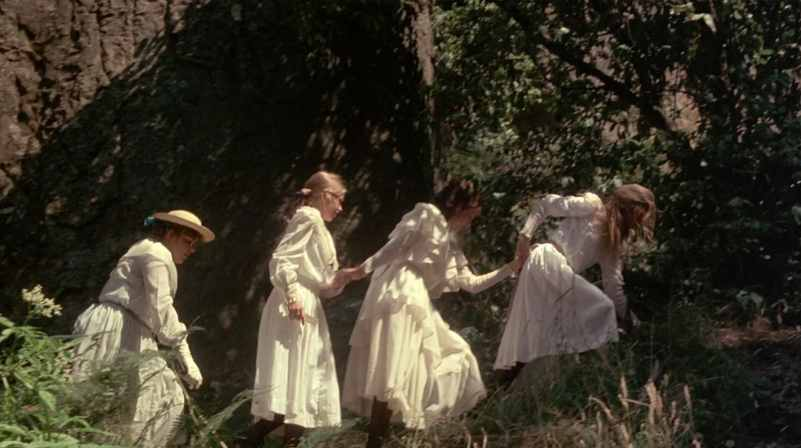 Picnic at Hanging Rock - Four Girls