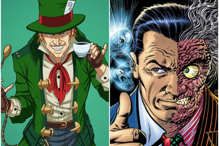 Two-Face & Mad Hatter To Appear In 'The Batman'