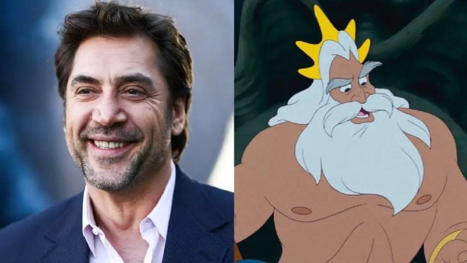 Javier Bardem in Talks to Play King Triton in Disney's 'Little Mermaid' ile ilgili görsel sonucu