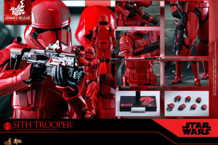 First Look At The New Sith Trooper From 'Star Wars: The Rise Of Skywalker'