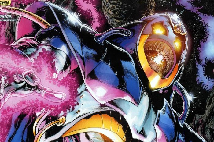 The Anti-Monitor Revealed In New 'Crisis On Infinite Earths' Concept Art