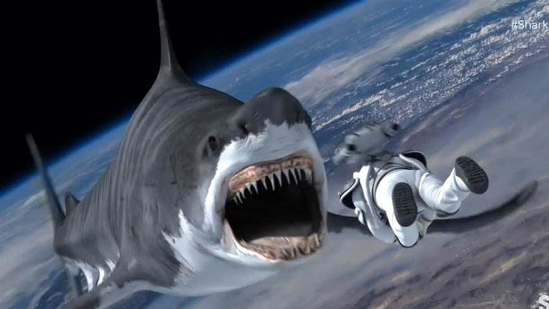 Sharknado 3 - Shark in Action