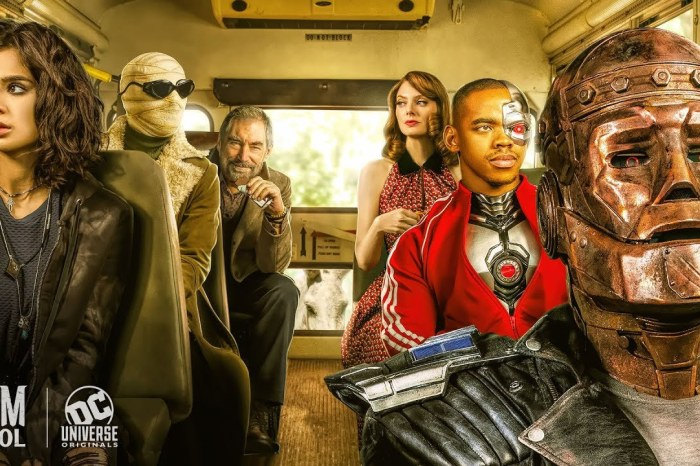 DC Universe's 'Doom Patrol' Officially Renewed For Second Season