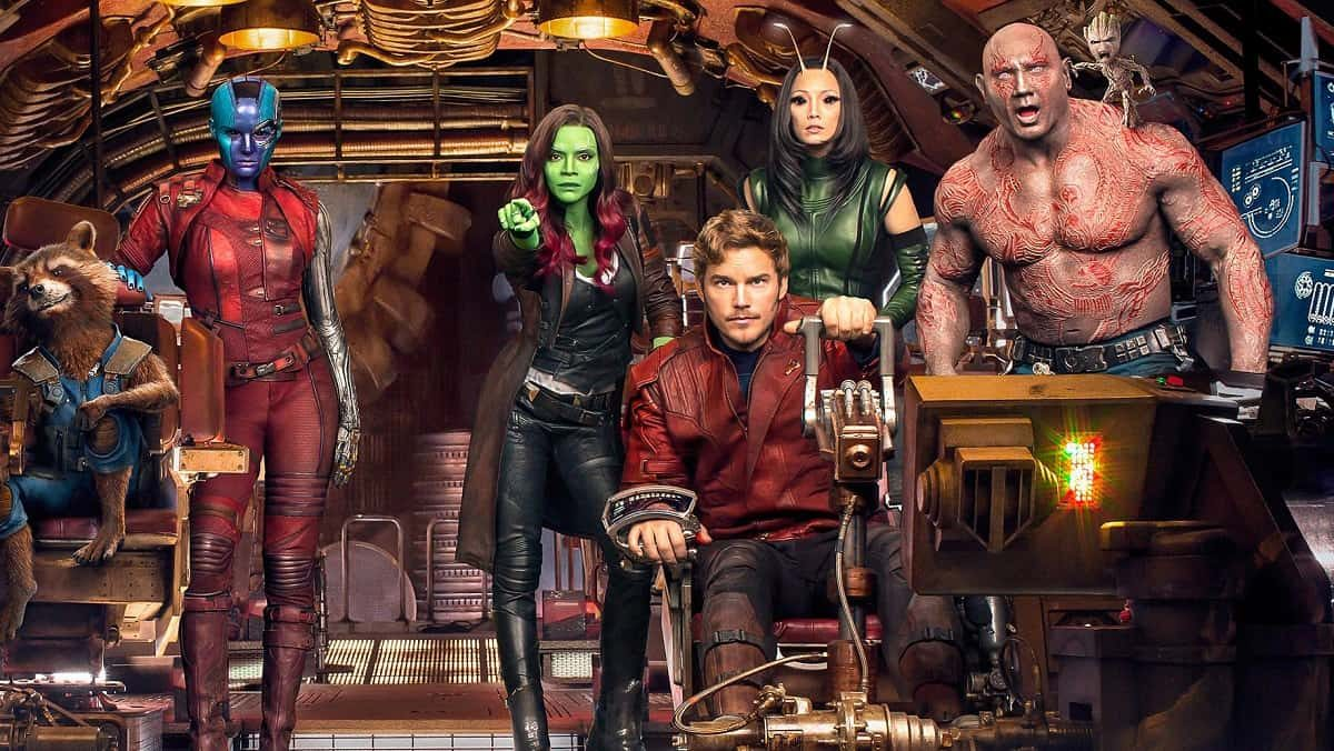 Guardians of the Galaxy Volume 3 - team picture