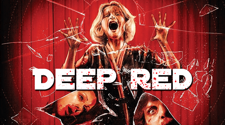 Deep Red Poster