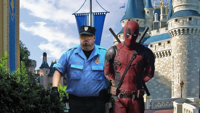 Deadpool at Disney World